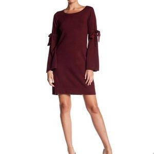NWT Max Studio | Tie Sleeve Sweater Knit Dress